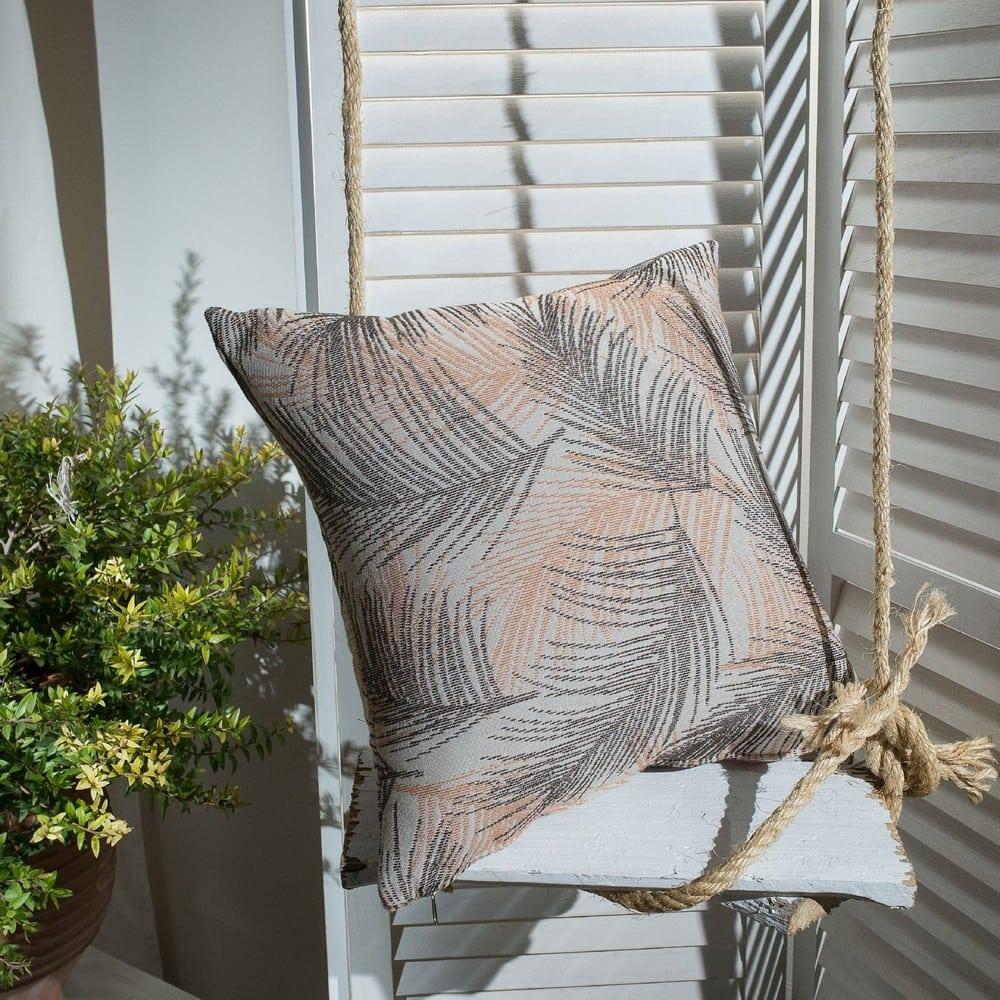 Μαξιλάρι Διακοσμητικό (Με Γέμιση) Toscana 15 Terracotta Teoran 45X45 Βαμβάκι-Polyester