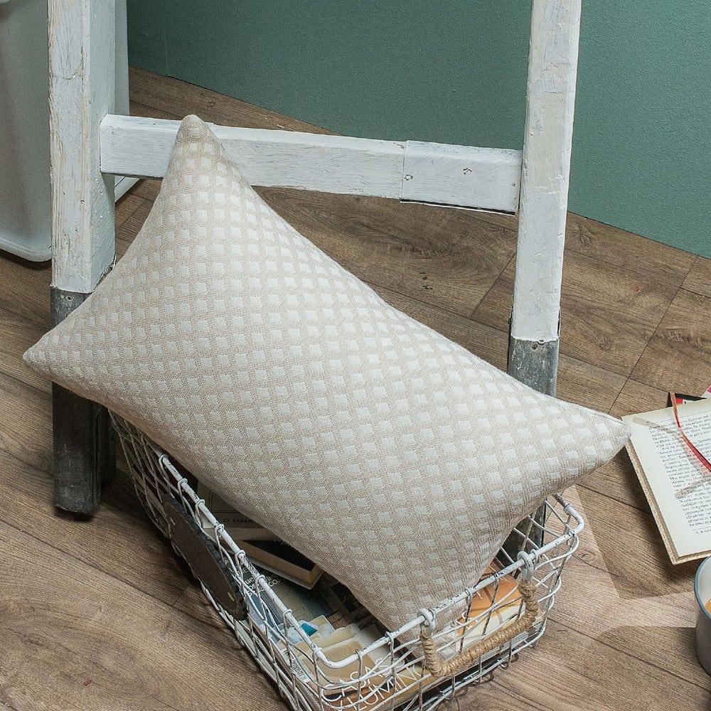 Μαξιλαροθήκη Διακοσμητική Bellagio 01 Ecru Teoran 30Χ50 Βαμβάκι-Polyester