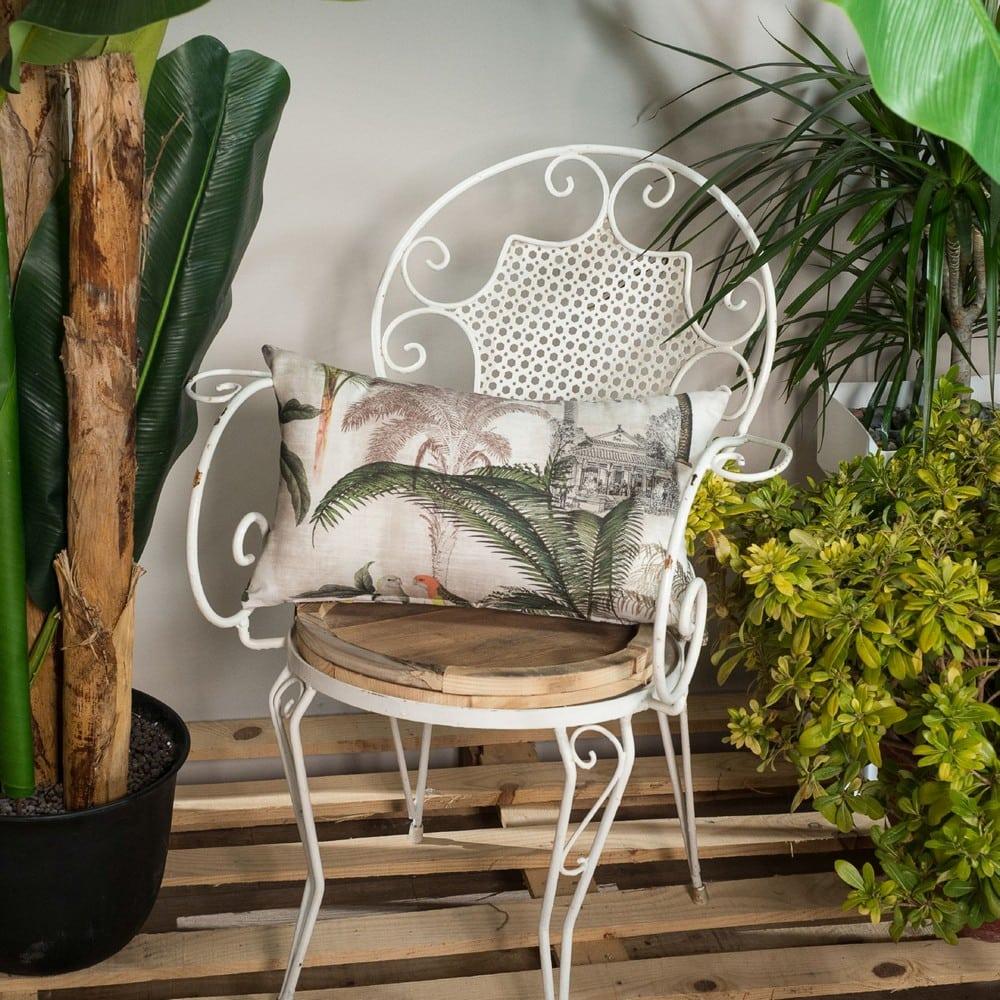 Μαξιλαροθήκη Διακοσμητική Kenya Beige Teoran 30Χ50 Βαμβάκι-Polyester