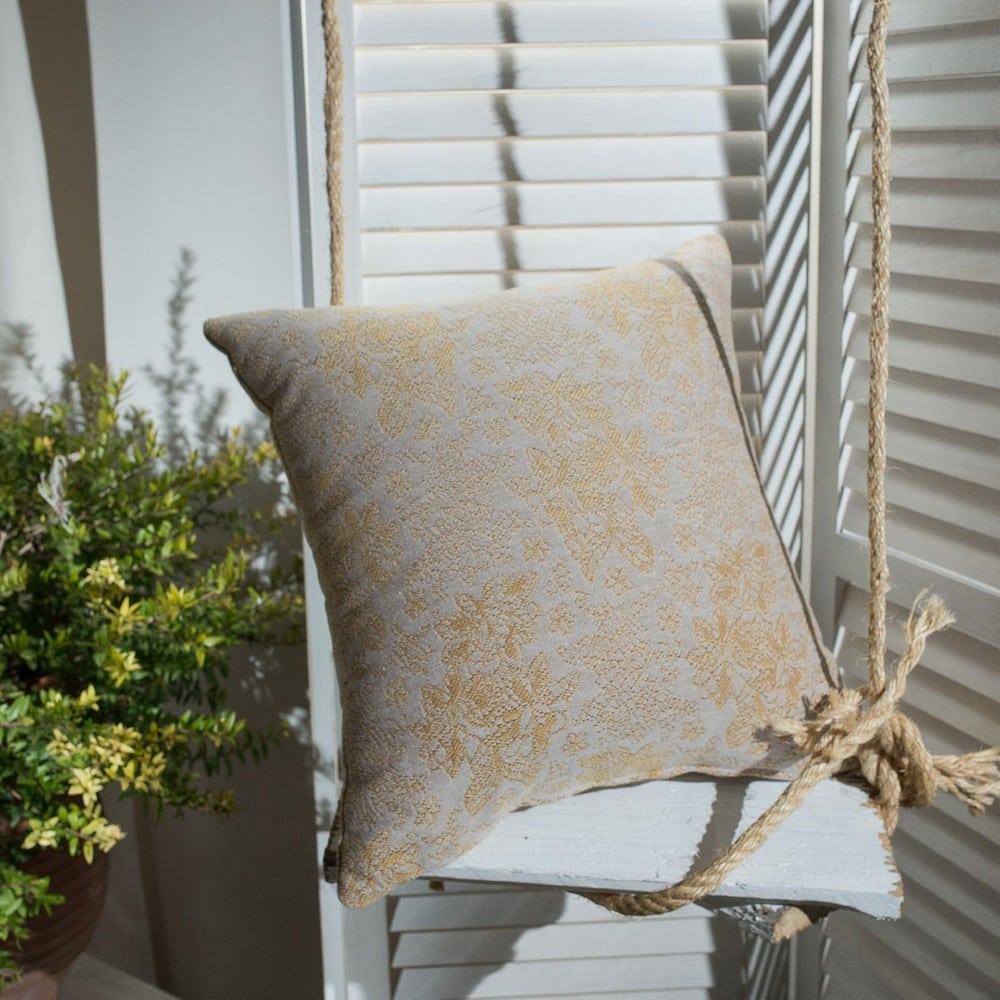 Μαξιλαροθήκη Διακοσμητική Monza 14 Brown Teoran 45X45 Βαμβάκι-Polyester