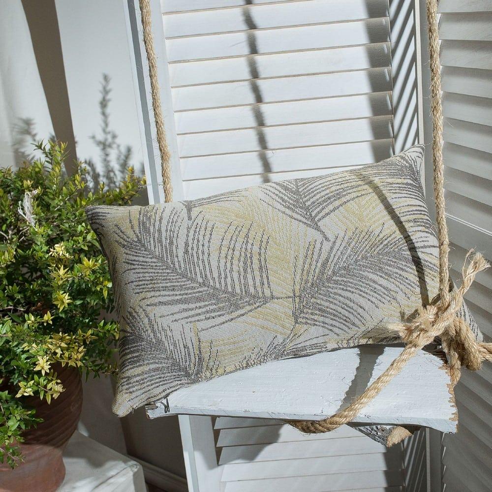 Μαξιλαροθήκη Διακοσμητική Toscana 08 Lime Teoran 30Χ50 Βαμβάκι-Polyester