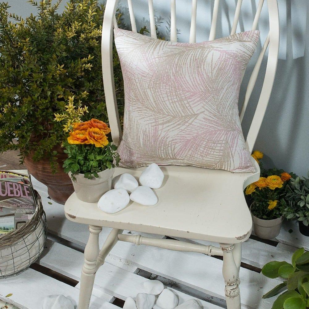 Μαξιλαροθήκη Διακοσμητική Toscana 06 Pink Teoran 45X45 Βαμβάκι-Polyester