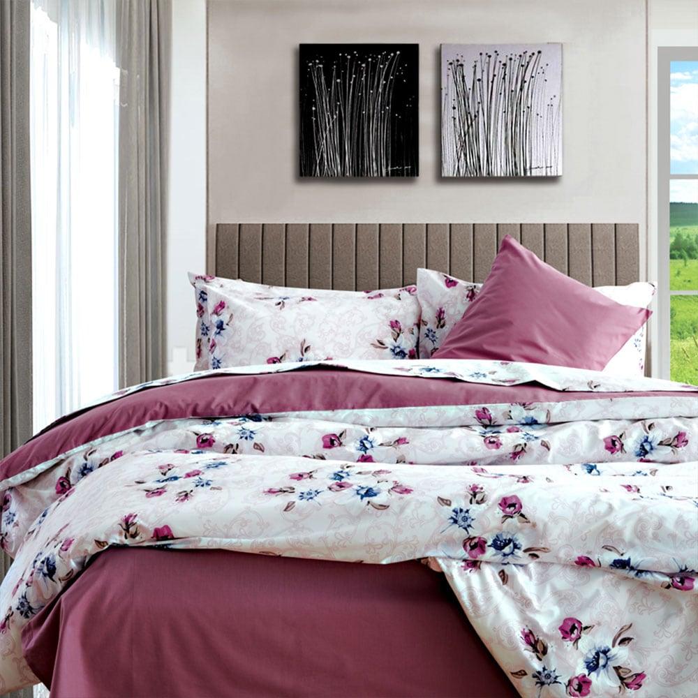 Μαξιλαροθήκες Σετ 2τμχ Frette Violet Sb Home 50Χ70 50x70cm