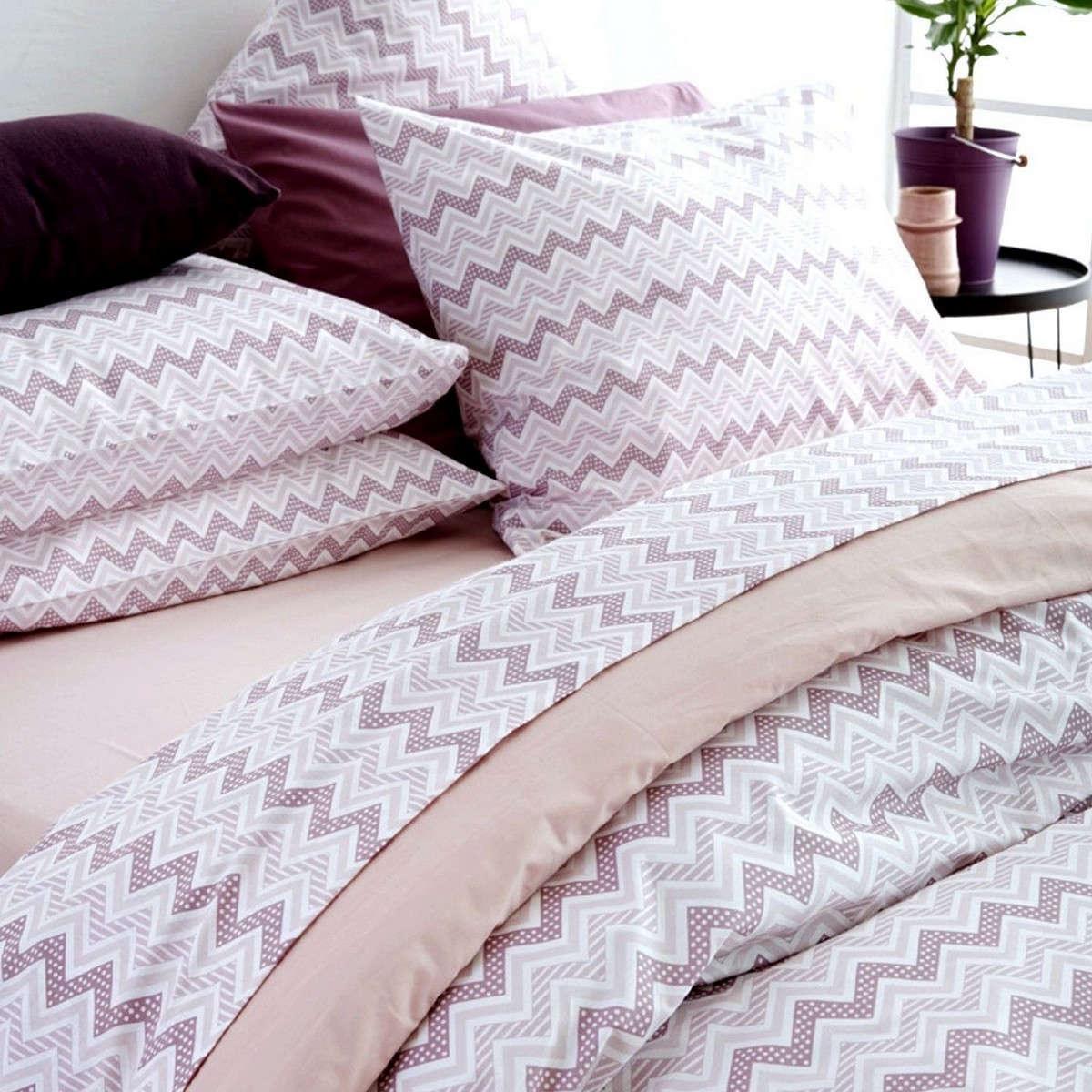 Μαξιλαροθήκες Σετ 2τμχ Waves Pink Sb Home 50Χ70 50x70cm