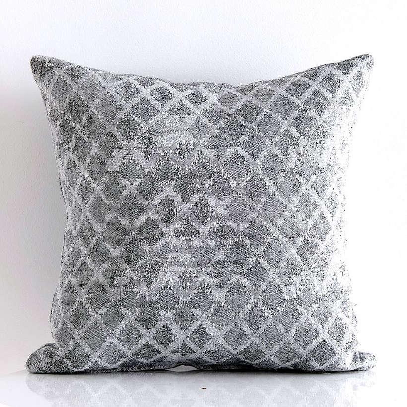Μαξιλαροθήκη Διακοσμητική Nice Grey Sb Home 45X45 Βαμβάκι-Polyester