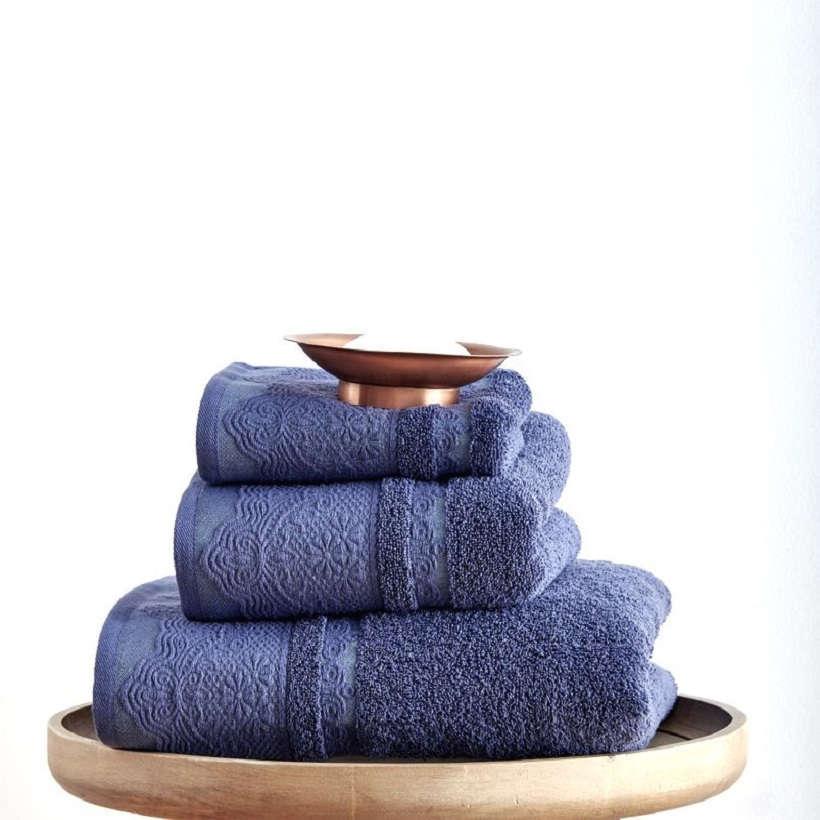 Πετσέτες Σετ 3Τεμ. Felix Blue Sb Home Σετ Πετσέτες