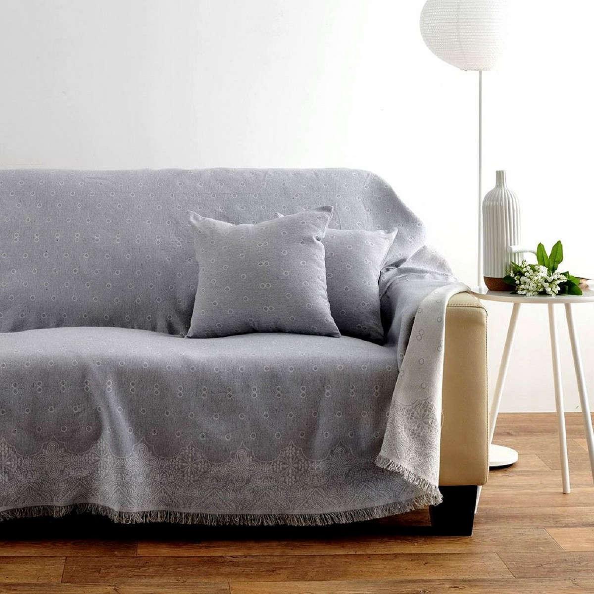 Ριχτάρι Paris Grey Sb Home Πολυθρόνα 180x160cm