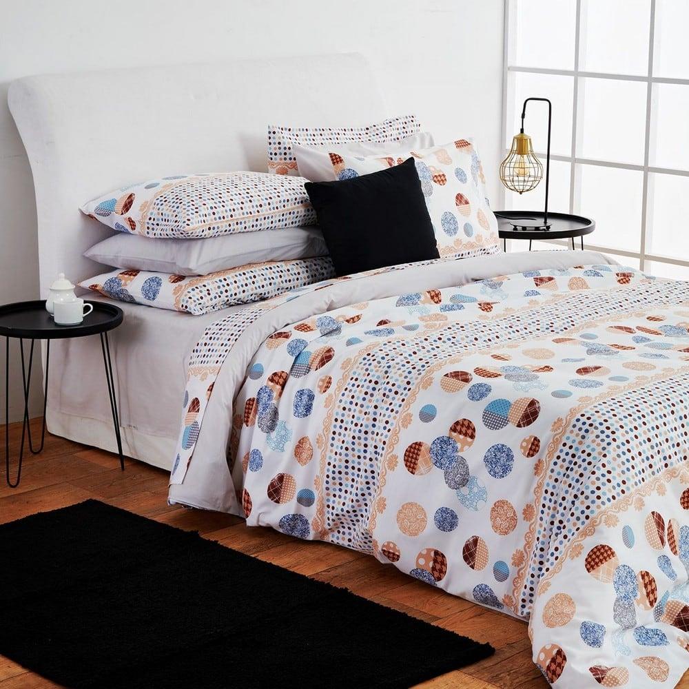 Πάπλωμα Dots Grey Sb Home Υπέρδιπλo 225x240cm