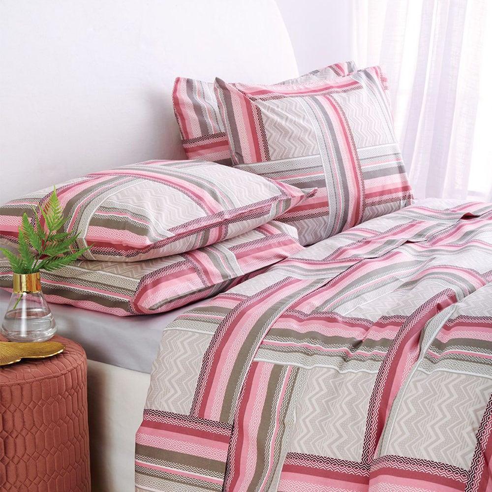 Παπλωματοθήκη Onyx Pink Sb Home Μονό 165x240cm