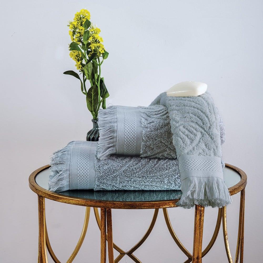 Πετσέτα Celine Grey Sb Home Σώματος 70x140cm