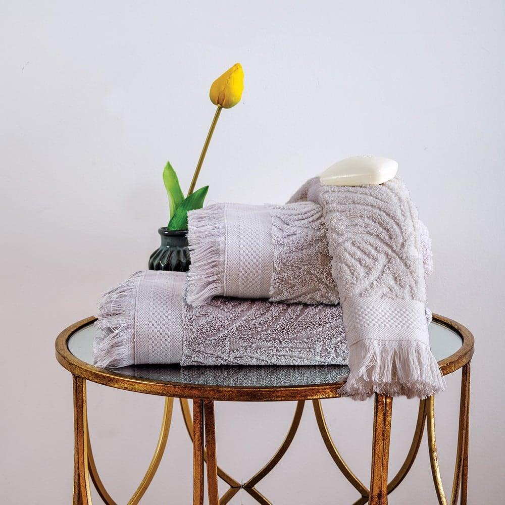 Πετσέτα Celine Silver Sb Home Σώματος 70x140cm