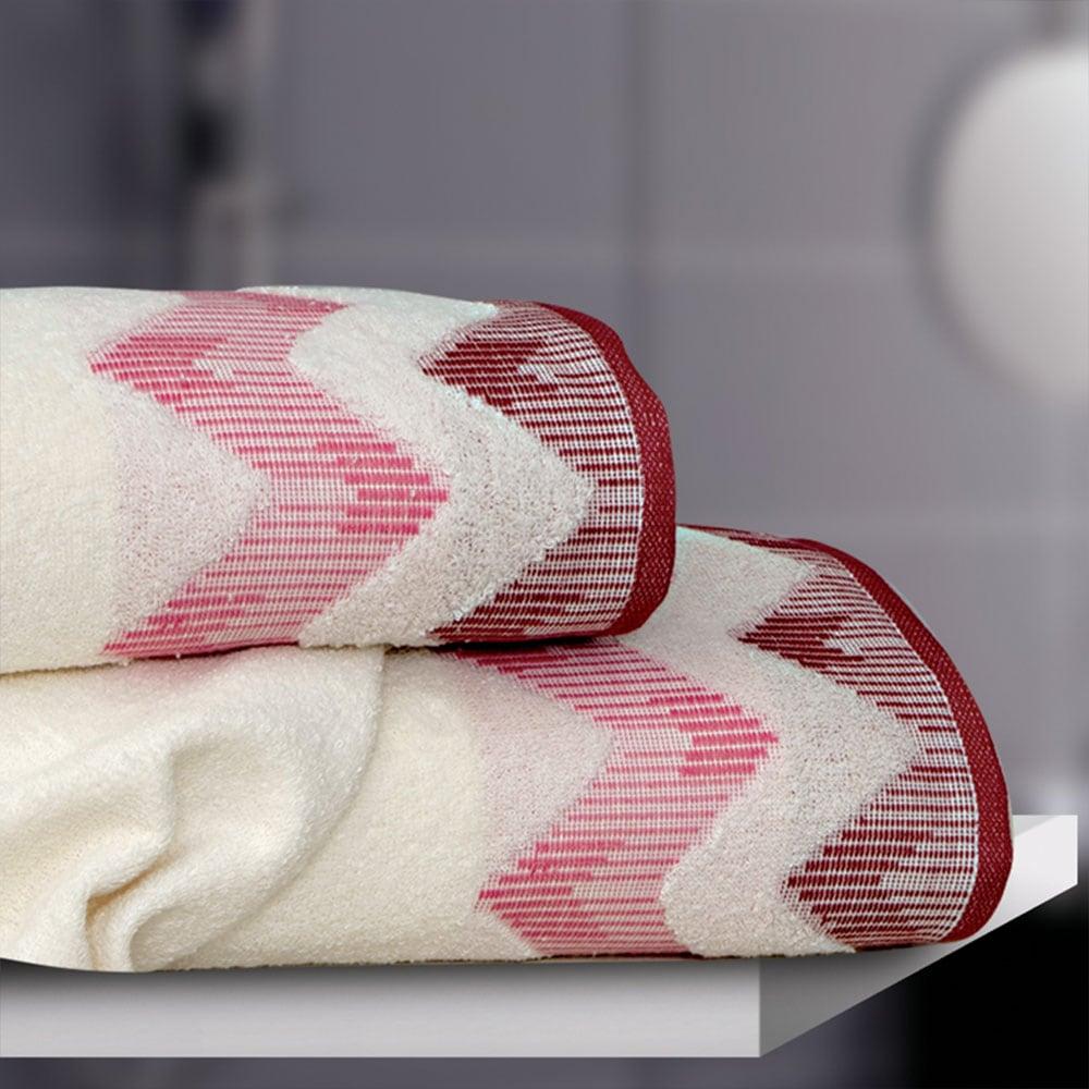 Πετσέτα Manon Dusty Pink Sb Home Προσώπου 50x90cm