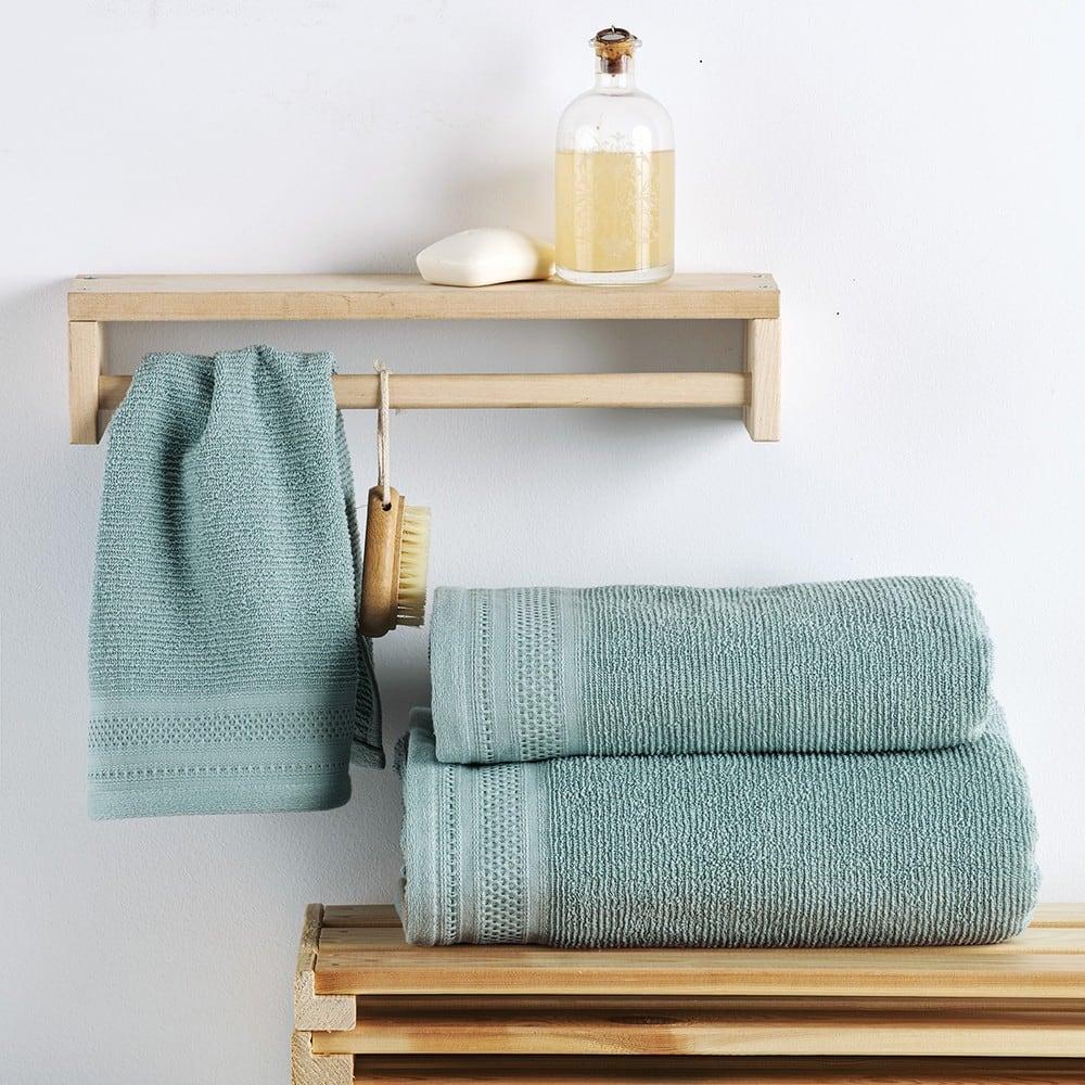 Πετσέτα Matteo Blue Sb Home Σώματος 70x140cm