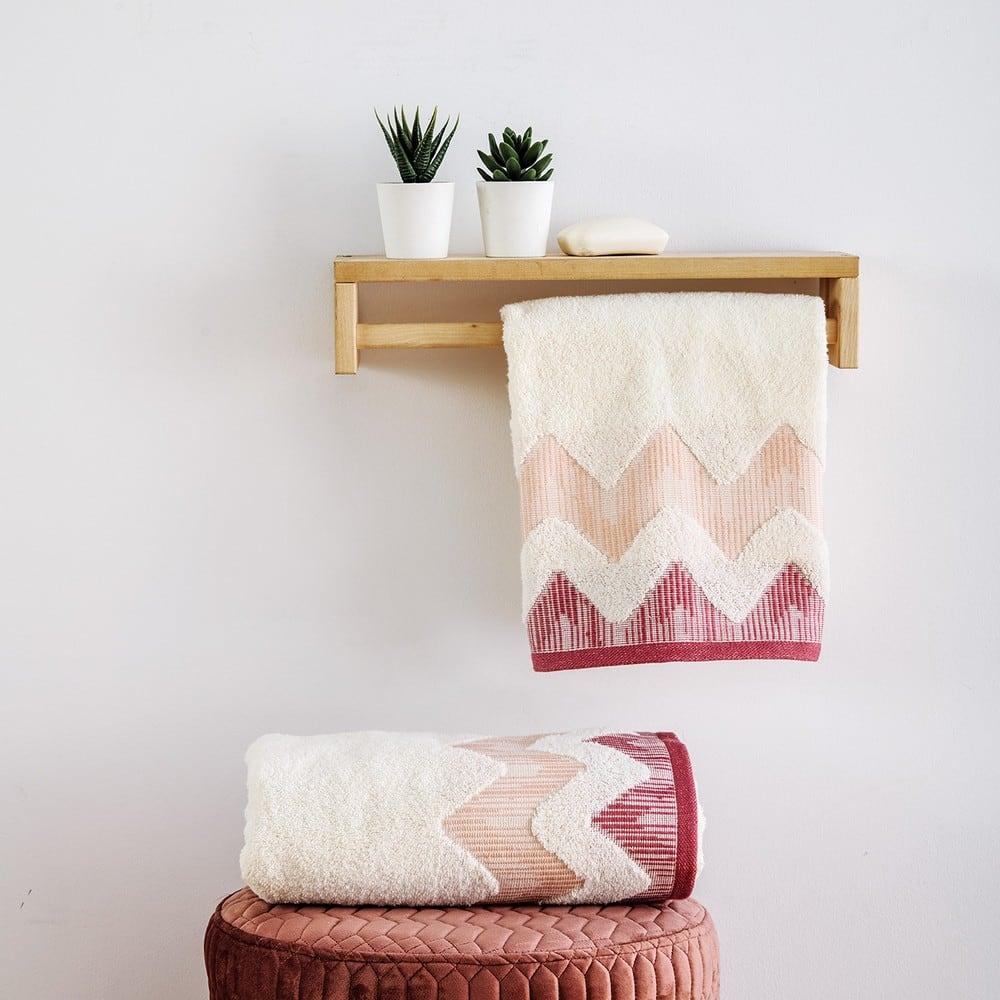 Πετσέτες Σετ 2 Τεμ. Manon Dusty Pink Sb Home Σετ Πετσέτες