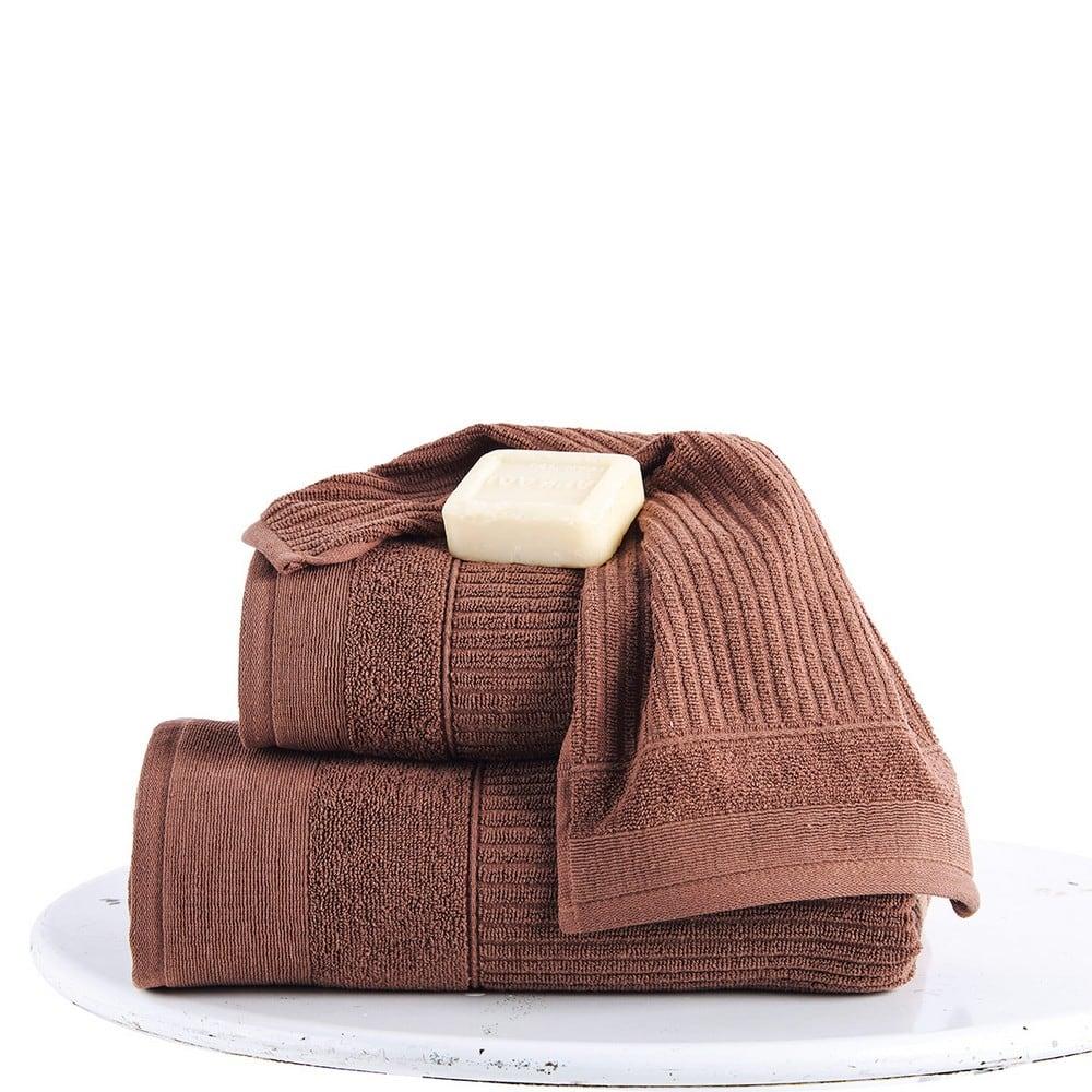 Πετσέτες Σετ 2 Τεμ. Thomas Choco Sb Home Σετ Πετσέτες