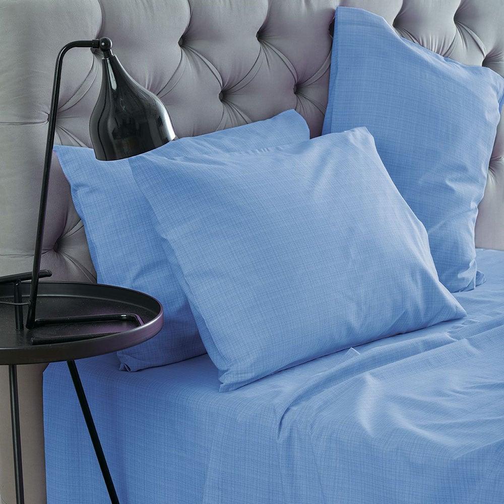 Σεντόνια Σετ Lucifer Blue Sb Home Μονό 240x270cm