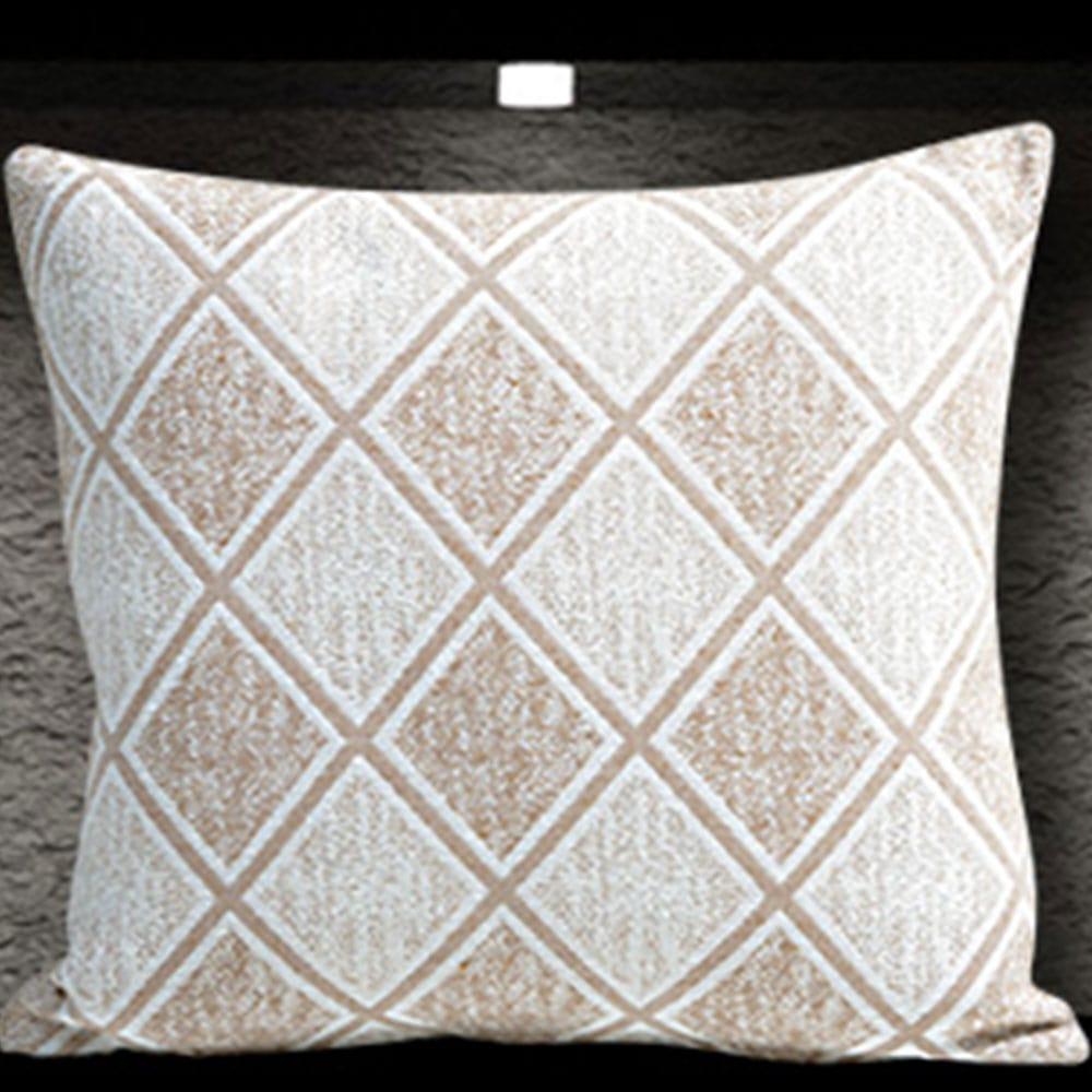 Μαξιλαροθήκη Διακοσμητική Kasandra Beige Sb Home 40Χ40 Βαμβάκι-Polyester