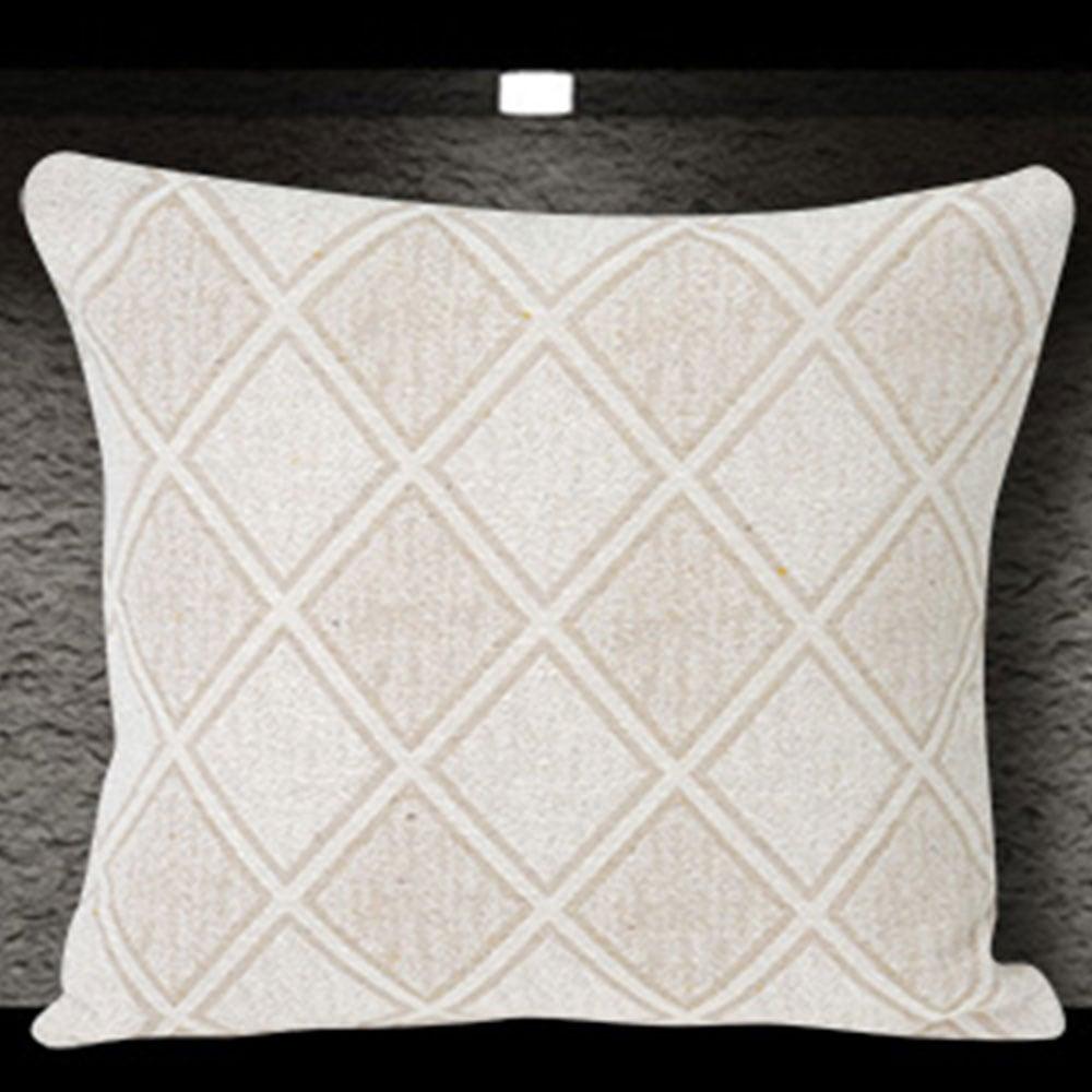 Μαξιλαροθήκη Διακοσμητική Kasandra Cream Sb Home 40Χ40 Βαμβάκι-Polyester