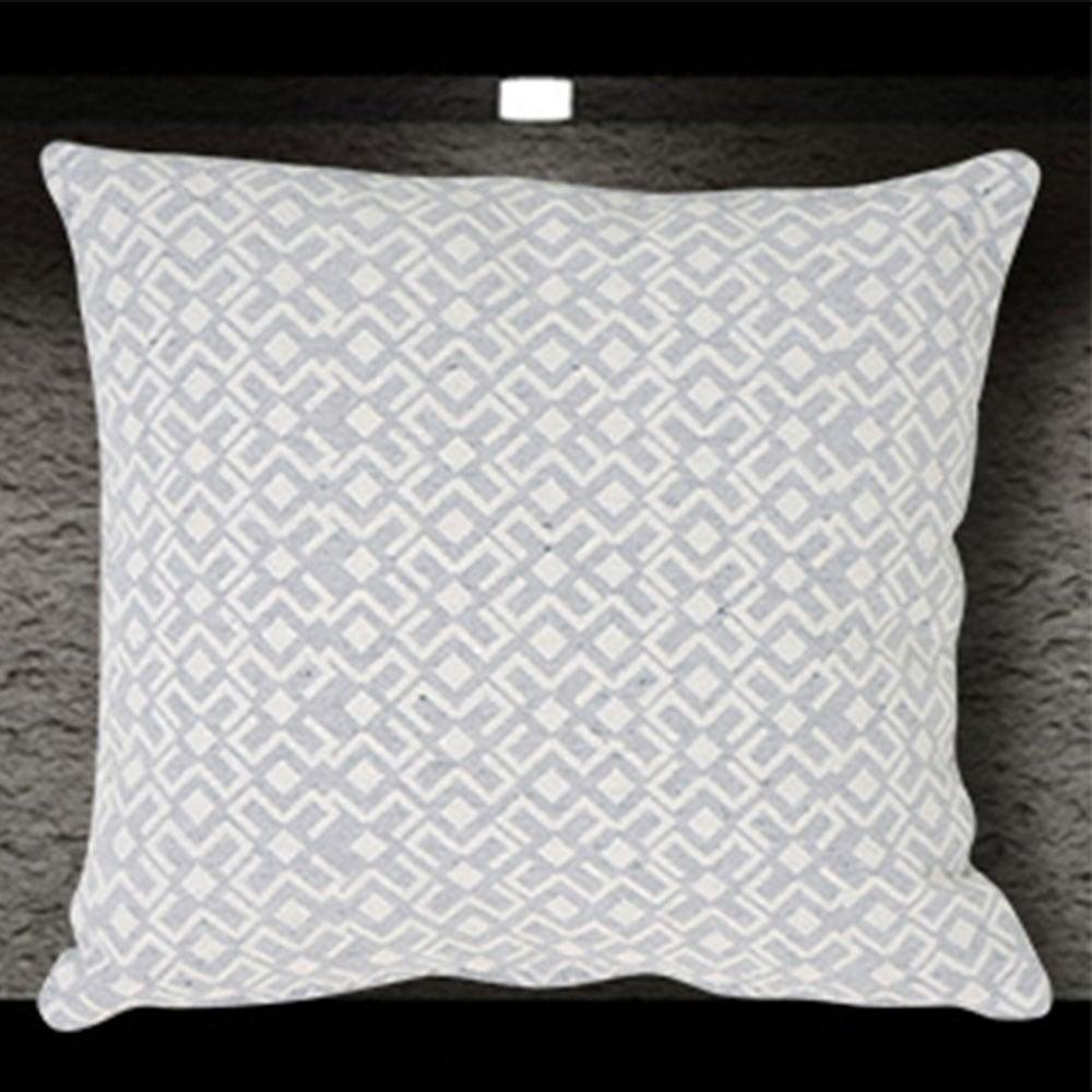 Μαξιλαροθήκη Διακοσμητική Marsela Grey Sb Home 40Χ40 Βαμβάκι-Polyester