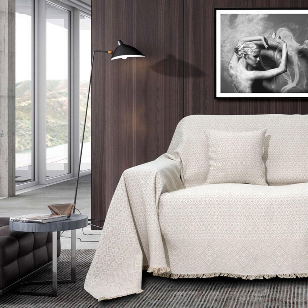 Ριχτάρι Marsela Cream Sb Home Διθέσιο 180x240cm