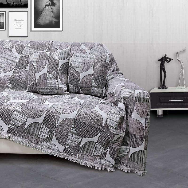 Ριχτάρι Marsa Grey Sb Home Διθέσιο 180x240cm