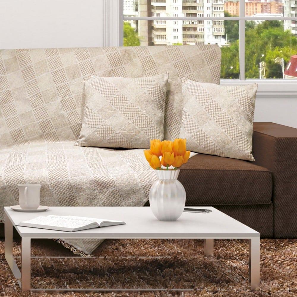 Μαξιλαροθήκη Διακοσμητική Orlando Beige Sb Home 40Χ40 Βαμβάκι-Polyester