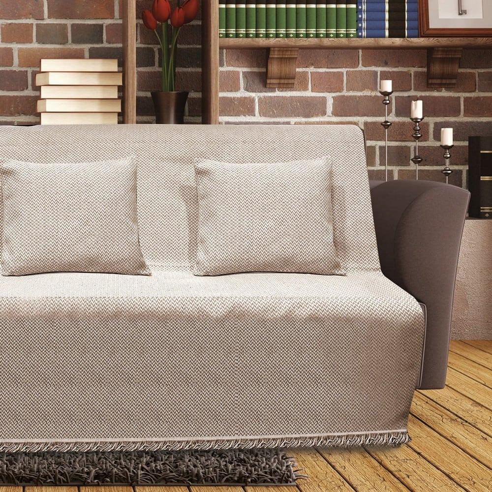 Μαξιλαροθήκη Διακοσμητική Sarlot Beige Sb Home 40Χ40 Βαμβάκι-Polyester