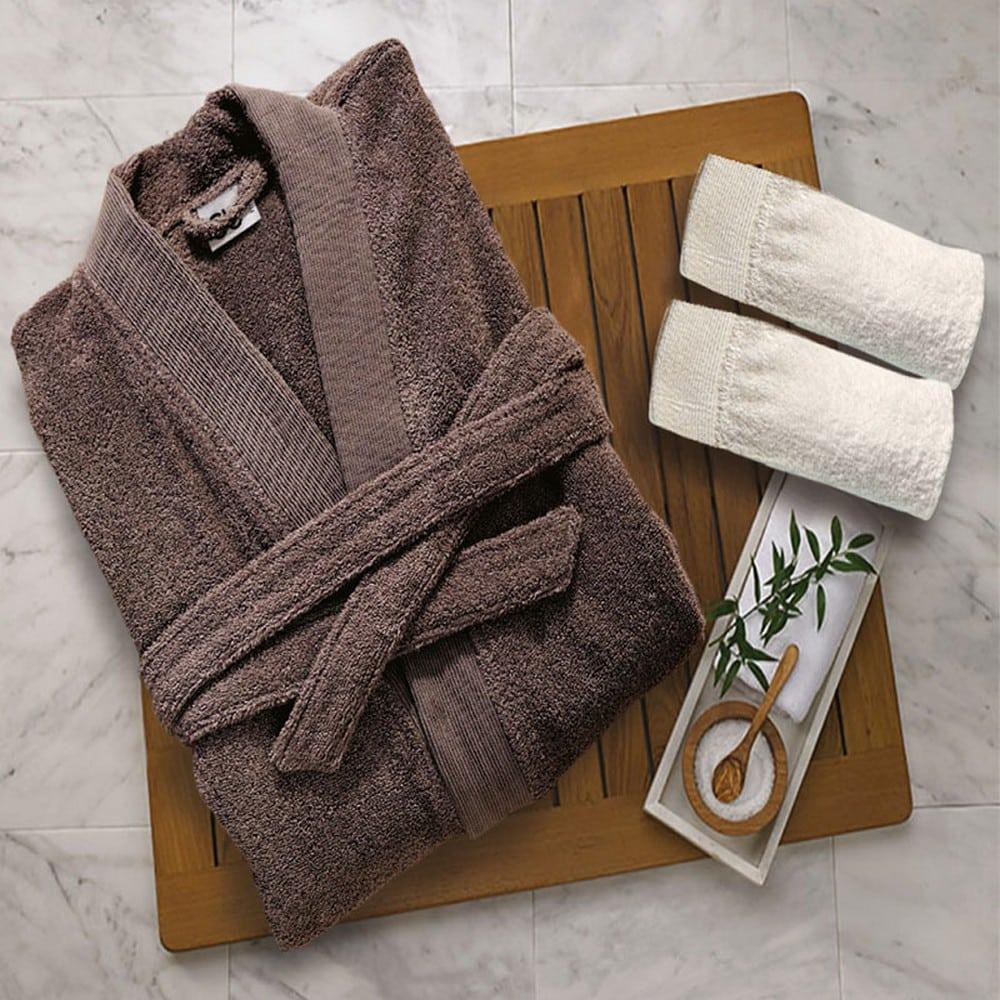 Μπουρνούζι Elegante Grey Sb Home Medium M