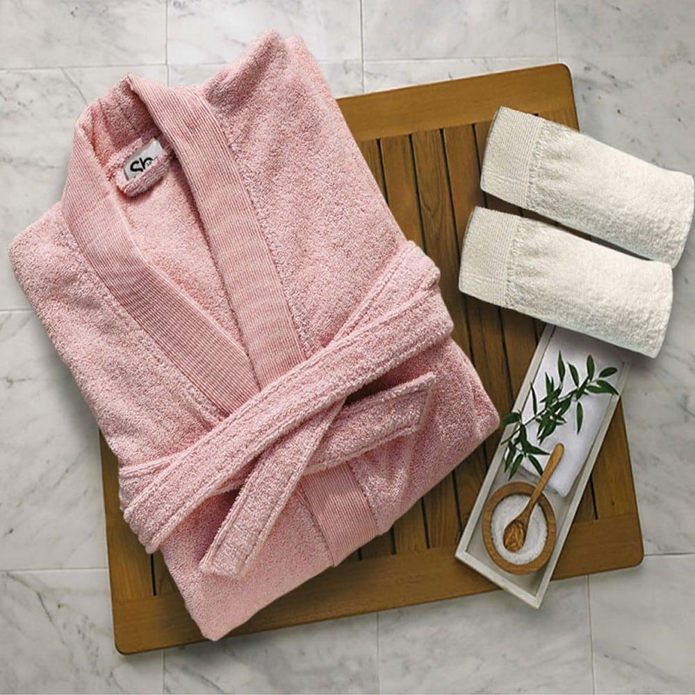 Μπουρνούζι Elegante Pink Sb Home Small S