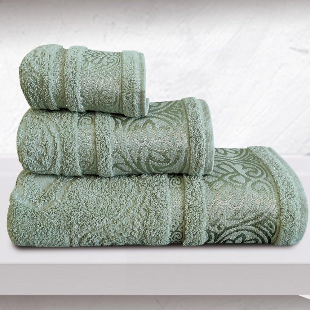 Πετσέτα Cronos Emerald Sb Home Προσώπου 50x90cm
