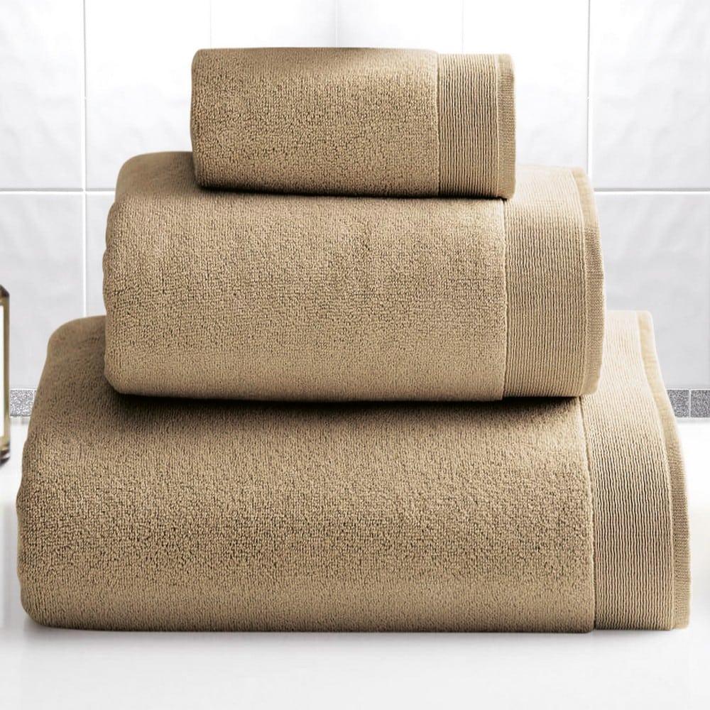 Πετσέτα Elegante Beige Sb Home Σώματος 100x150cm