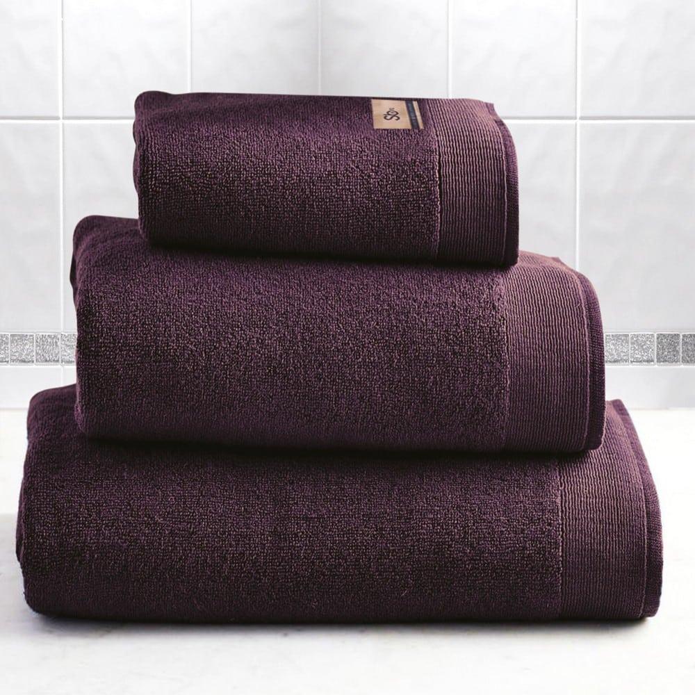 Πετσέτα Elegante Purple Sb Home Προσώπου 50x100cm