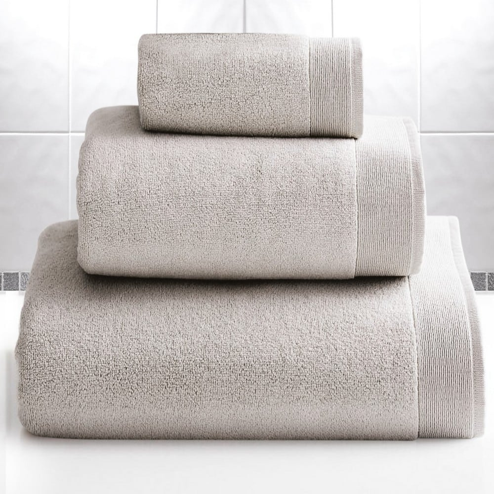 Πετσέτα Elegante Silver Sb Home Σώματος 100x150cm