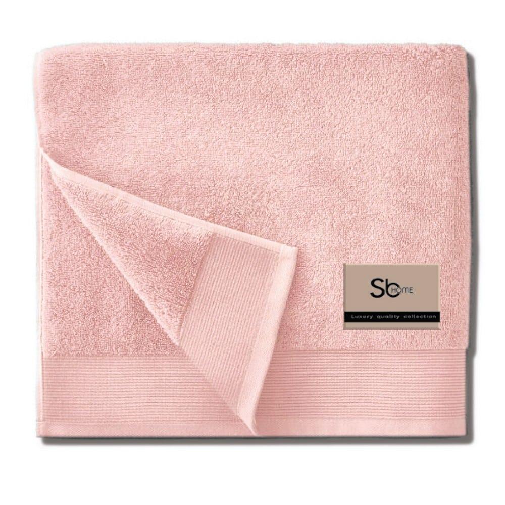 Πετσέτα Elegante Pink Sb Home Προσώπου 50x100cm