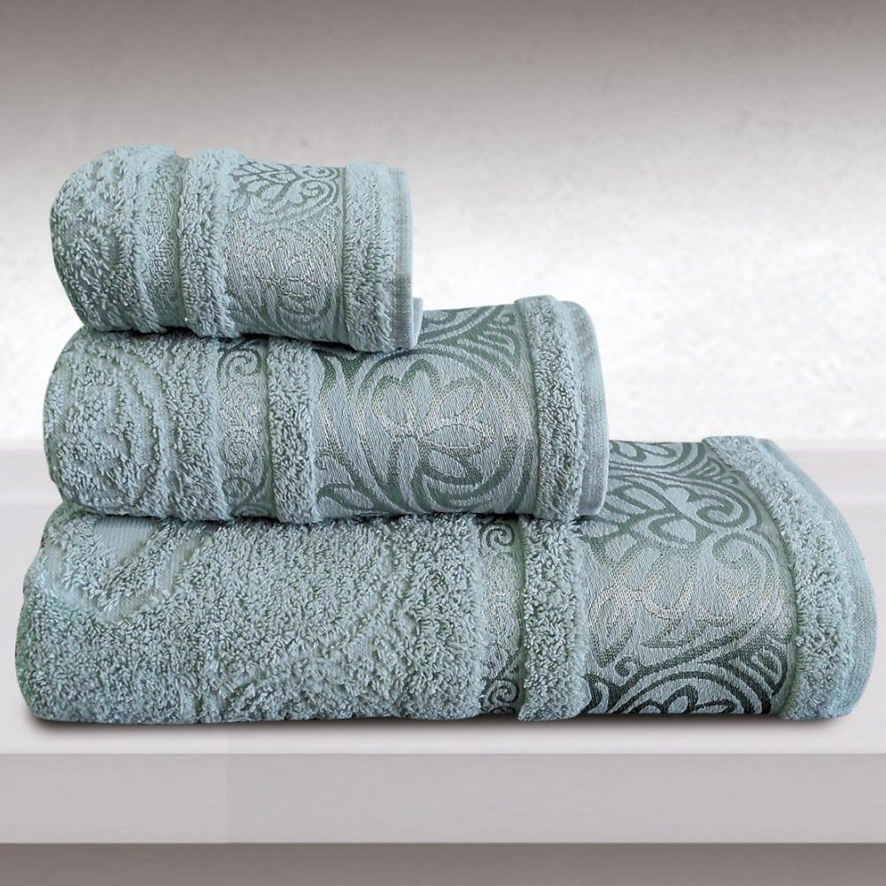 Πετσέτες Cronos Σετ 3τμχ Light Blue Sb Home Σετ Πετσέτες 70x140cm