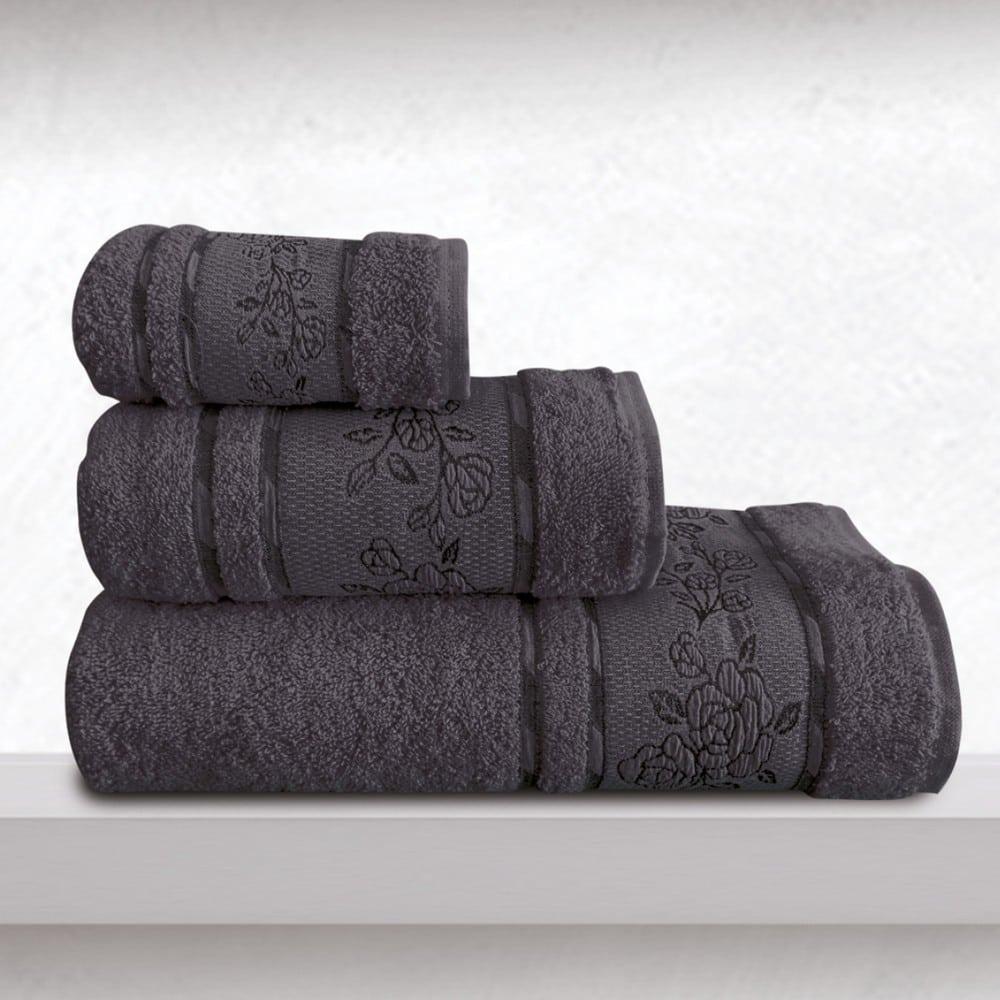 Πετσέτες Themis Σετ 3τμχ Denim Sb Home Σετ Πετσέτες 70x140cm