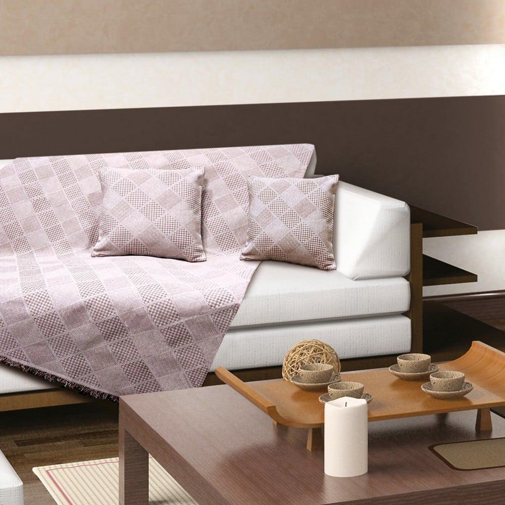 Ριχτάρι Orlando Dusty Pink Sb Home Τριθέσιο 180x300cm