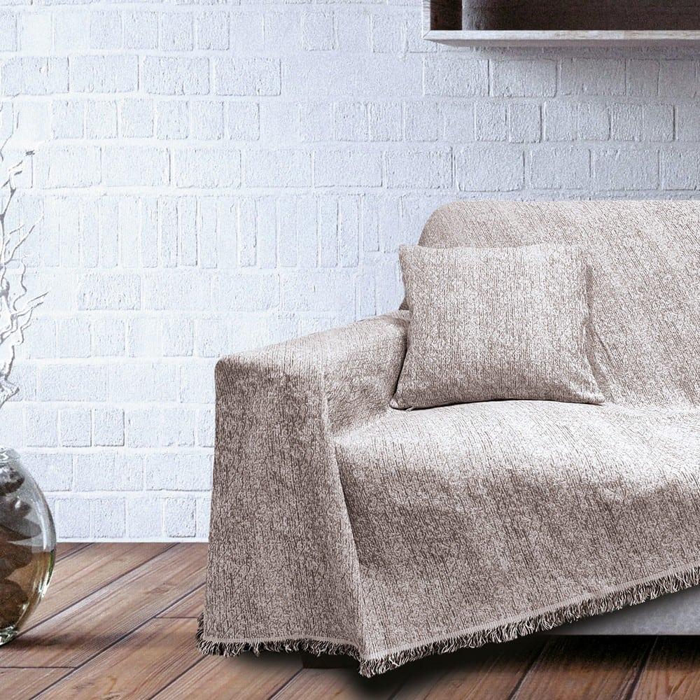 Μαξιλαροθήκη Διακοσμητική Phenix Taupe Sb Home 40Χ40 Βαμβάκι-Polyester