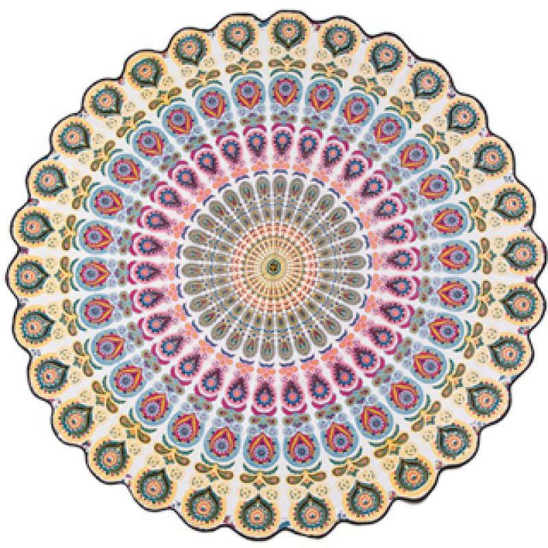 Ροτόντα Mandala NATC509PK Ροζ Διάμετρος 180cm