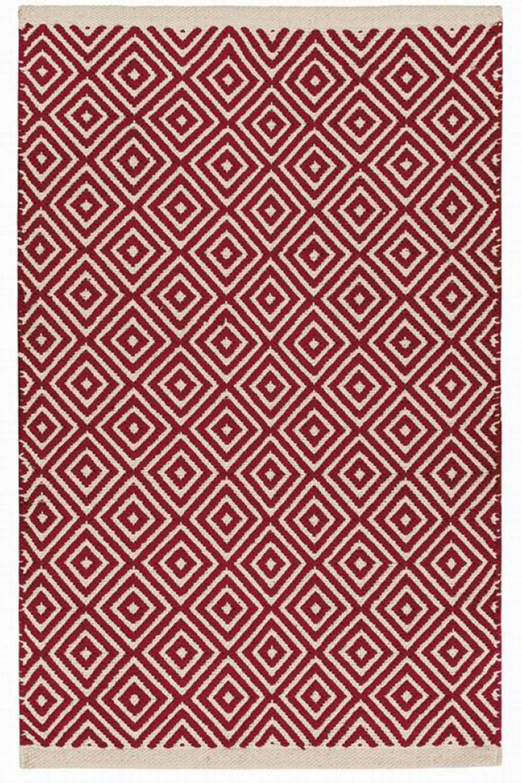 Χαλί Diamond NAR136RD Κόκκινο 70X150