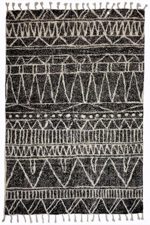 Χαλί Morocan MA58716A Μαύρο 140X200