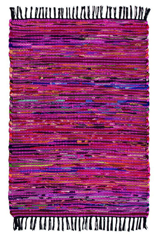 Χαλί Βαμβάκι-Fleece NAR3935PK Ροζ 70X150