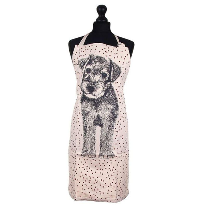 Ποδιά Κουζίνας Dog EI1218 Pink-Grey 60x85cm