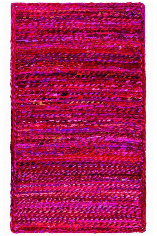Χαλί Chindi NAR20435RD Red 70X150