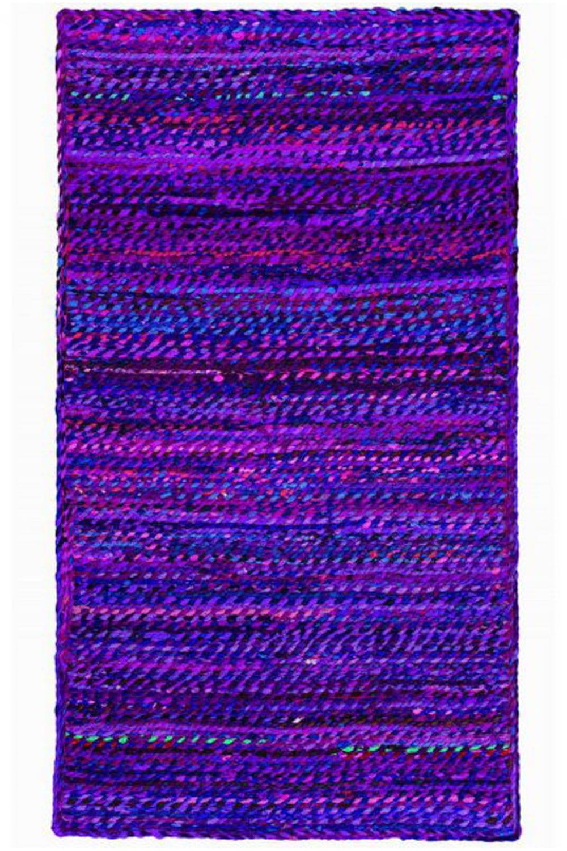 Χαλί Chindi NAR20435P Purple 70X150