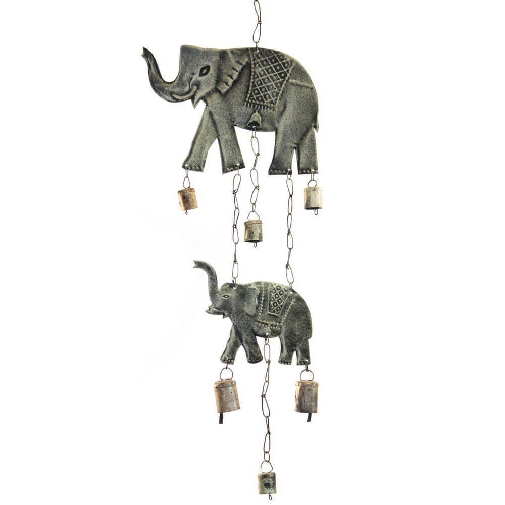 Μελωδός Με 2 Ελέφαντες NAMD107 Rust Μέταλλο