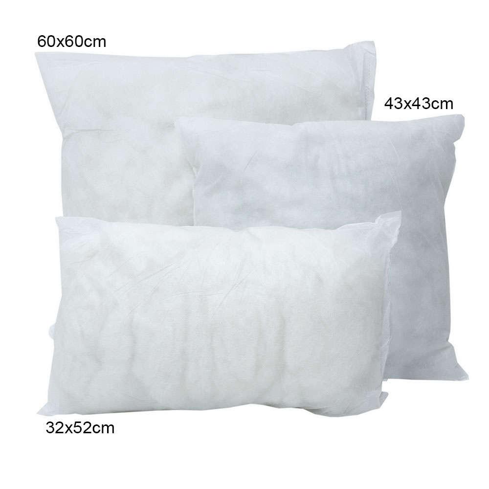 Μαξιλάρι Γεμίσματος White Viopros 60X60 Βαμβάκι-Polyester