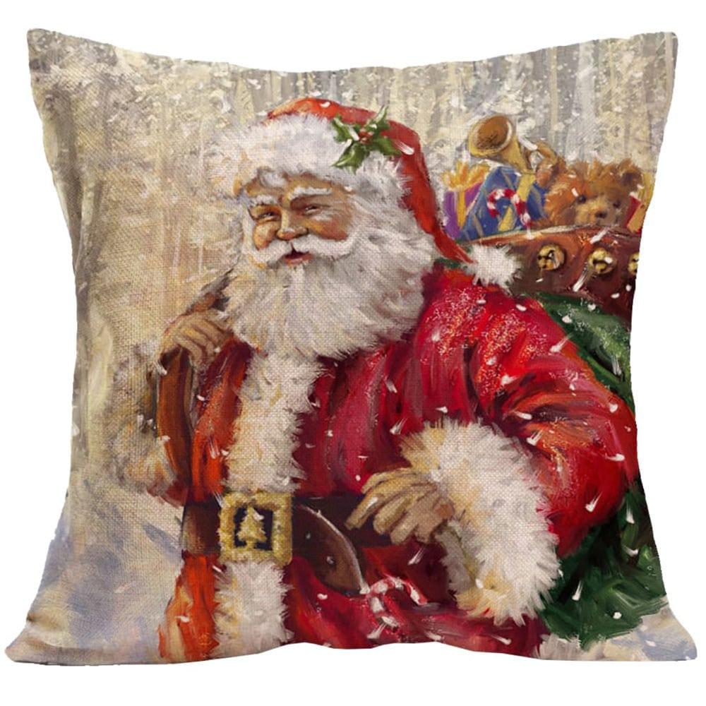 Μαξιλάρι Διακοσμητικό Χριστουγεννιάτικο Με Γέμιση Σχ. 251 Multi Viopros 45X45