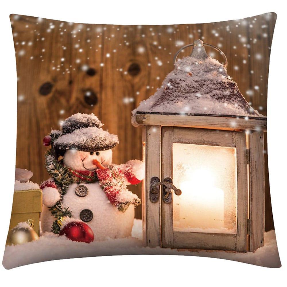Μαξιλάρι Διακοσμητικό Χριστουγεννιάτικο Με Γέμιση Σχ. 253 Multi Viopros 45X45