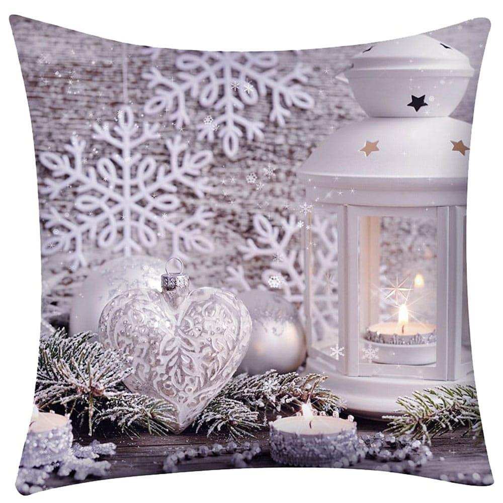 Μαξιλάρι Διακοσμητικό Χριστουγεννιάτικο Με Γέμιση Σχ. 254 Multi Viopros 45X45